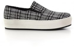 Slip On shoes Feng Shoe Υφασμα boucle