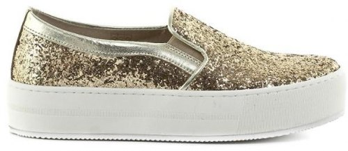 Slip On shoes Feng Shoe Glitter
