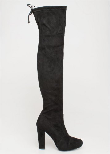 Krista over the knee boot, μαύρο 38290 1