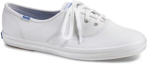 KEDS CHAMPION CORE LEATHER SNEAKERS ΛΕΥΚΑ