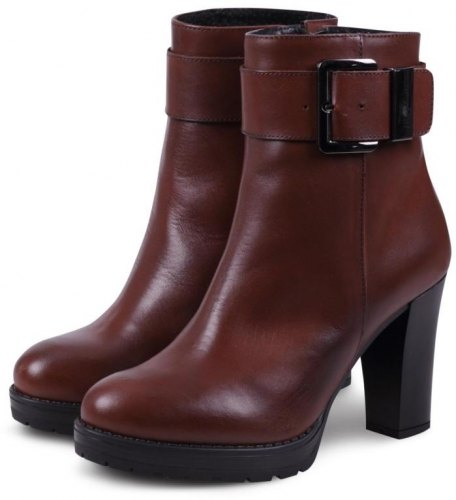LeonArch Women's High Heel Boot 2380 Κονιάκ