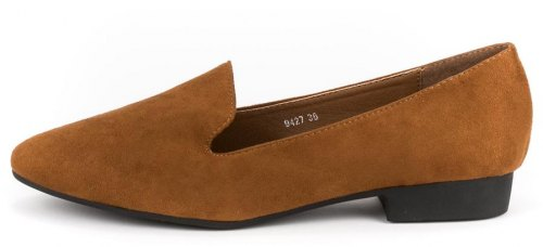 Suede basic loafers 9427